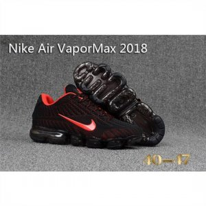 Mens Nike Air Vapormax 2018 Shoes Black Red