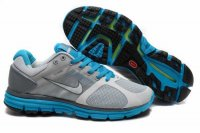 Nike LunarGlide+ 2 Grey Blue Mens Shoes