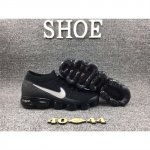 Mens Nike Air VaporMax Shoes Black White Logo