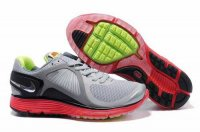 Nike Lunar Eclipse Grey Black Red Mens Shoes