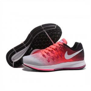 Womens Nike Air Zoom Pegasus 33 Shoes Pink Gray