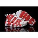 Mens Nike Air More Uptempo Red White Shoes