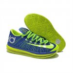 Mens Nike KD 6 Elite Blue Green