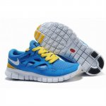 Nike Free Run 2 Womens Shoes Blue Yellow