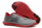 Nike Free 4.0 V2 Gray Red Shoes