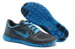 Nike Free 5.0 3V Charcoal Gray Blue Shoes