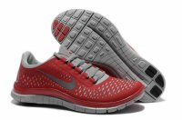 Nike Free 3.0 V4 Gray Red Shoes