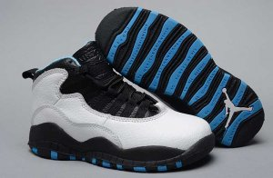 Air Jordan 10 Kids Shoes-4