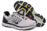 Nike LunarGlide+ 2 Grey Black Mens Shoes
