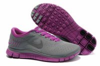 Nike Free 4.0 V2 Dark Gray Purple Shoes